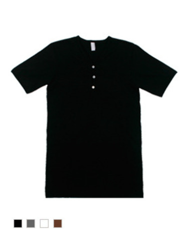 American Apparel 헨리셔츠