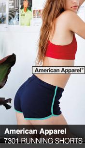 American Apparel 러닝 쇼츠